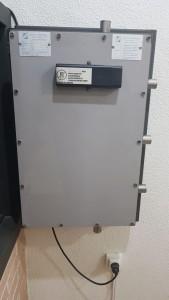 sustitución de sistema de seguridad en Novelda